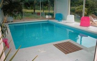 L'OLLIVIER Architecte PONT L'ABBÉ piscine intérieure Fouesnant