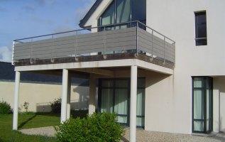 L'OLLIVIER Architecte PONT L'ABBÉ - balcon