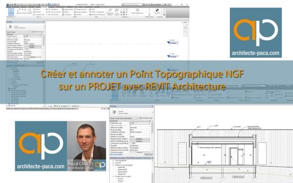 Positionner un projet REVIT Architecture en NGF