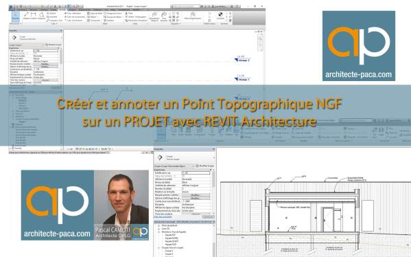 Positionner un projet REVIT Architecture en NGF