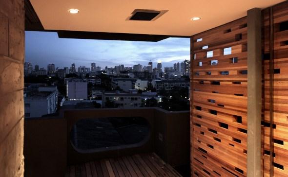 Balcony 04 - bangkok view