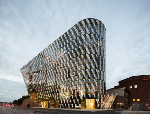 Aula Medica Building in Sweden