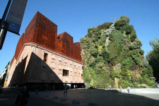 Spanish Architectural Tours - Caixa Forum Madrid building