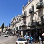 Jaffa Gate Buildings Jerusalem
