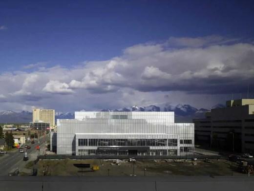 Anchorage Museum building - Alaska architecture tour