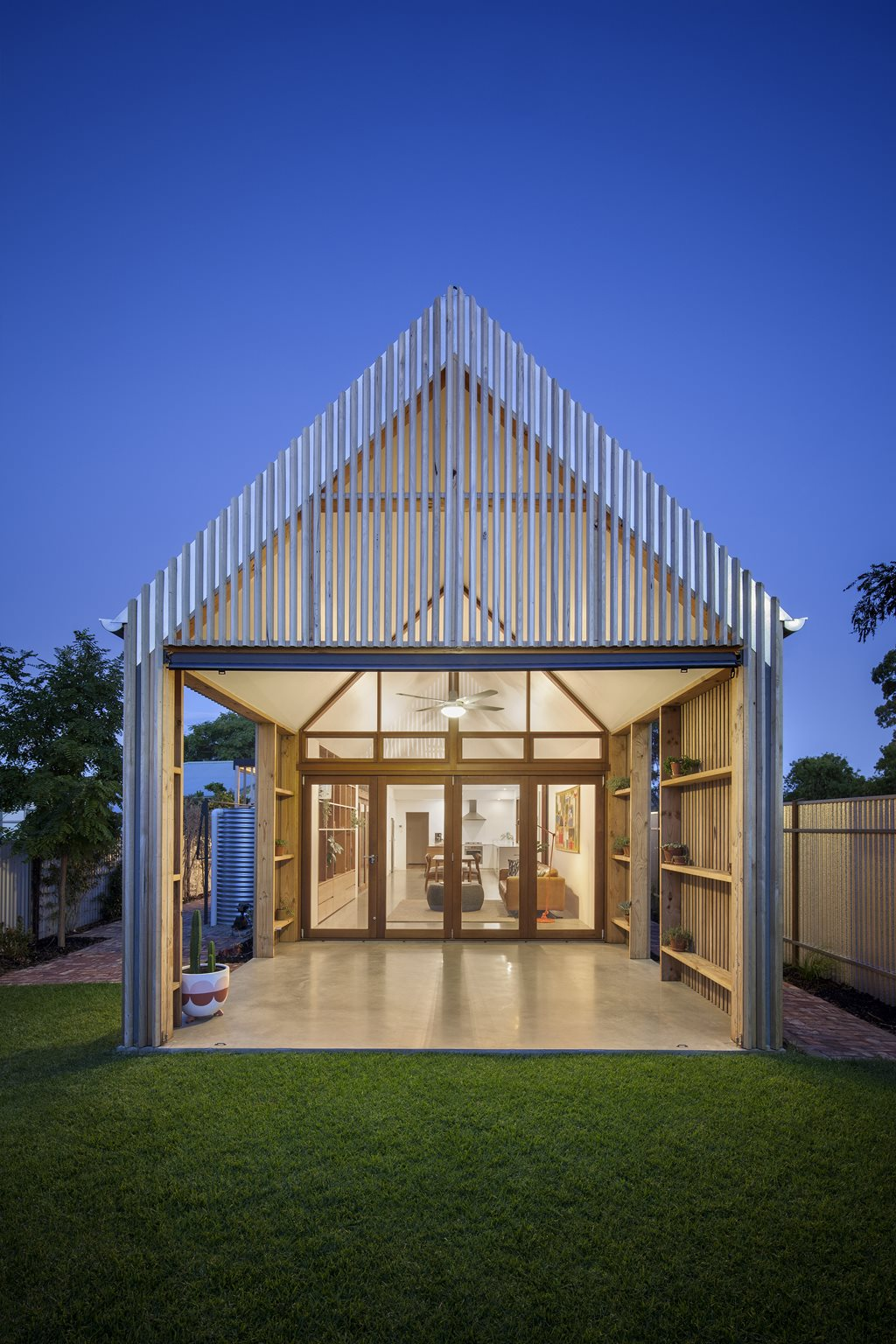 Adelaide Home Extension Explores Vernacular For Modern Day Architecture And Design