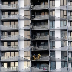 Non Compliant Cladding Fuelled Melbourne Apartment Tower