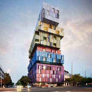 Jackson Clements Burrow S Lego Tower In St Kilda Taking