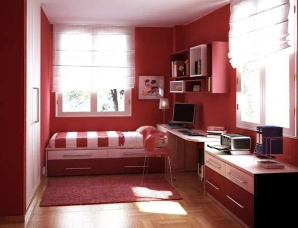 The Most Brilliant and Comfortable Teens Room Ideas for ... on Teenage Simple Bedroom Ideas For Small Rooms  id=19128
