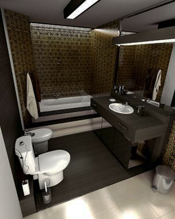 30 Small and Functional Bathroom Design Ideas For Cozy Homes on Apartment Small Bathroom Decor Ideas  id=24402