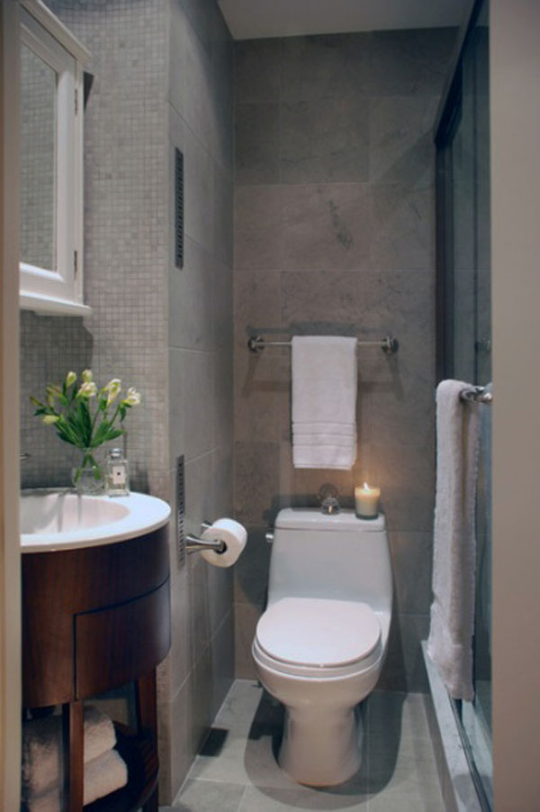 30 Small and Functional Bathroom Design Ideas For Cozy Homes on Ideas For Small Bathrooms  id=93731
