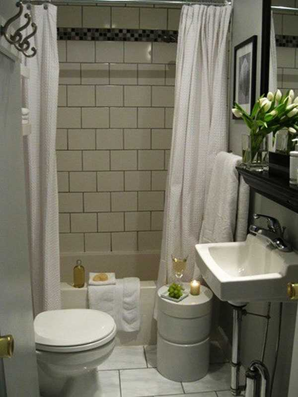30 Small and Functional Bathroom Design Ideas For Cozy Homes on Bathroom Designs For Small Spaces  id=93543