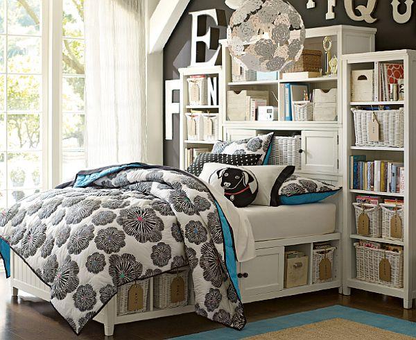 55 Motivational Ideas For Design Of Teenage Girls Rooms on Teenage Room Design For Girls  id=19623