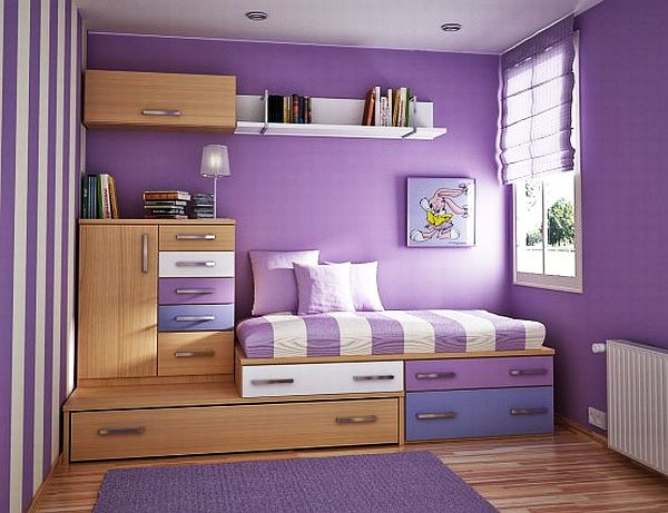 55 Motivational Ideas For Design Of Teenage Girls Rooms on Room For Girls  id=80271