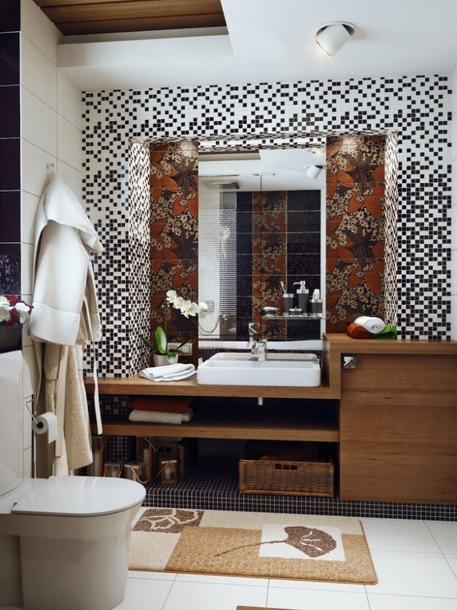 How to decorate small space bathrooms on Small Space Bathroom Ideas  id=53835