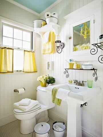 36 Bright And Sunny Yellow Ideas For Perfect Bathroom ... on Small:e_D8Ihxdoce= Bathroom Ideas  id=44551