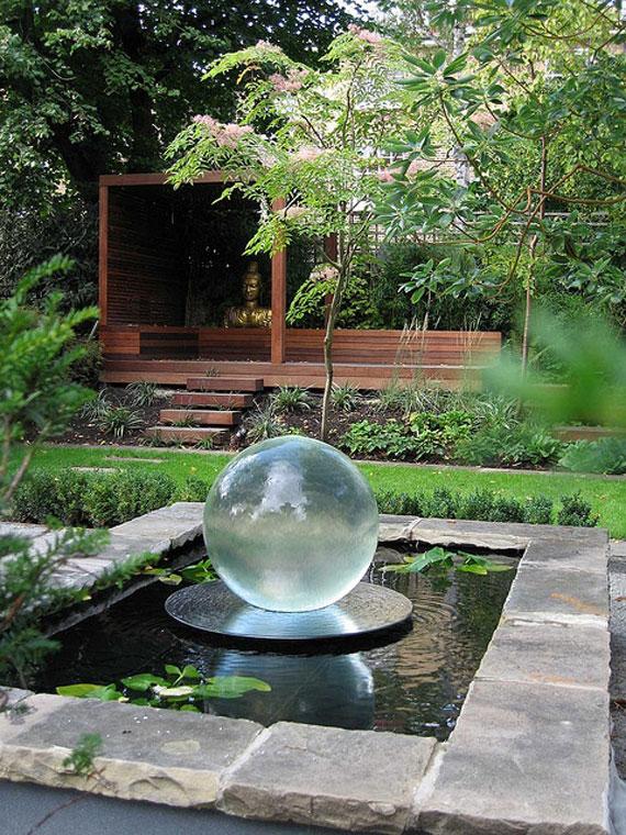 30 Beautiful Backyard Ponds And Water Garden Ideas on Pond Ideas Backyard id=76043