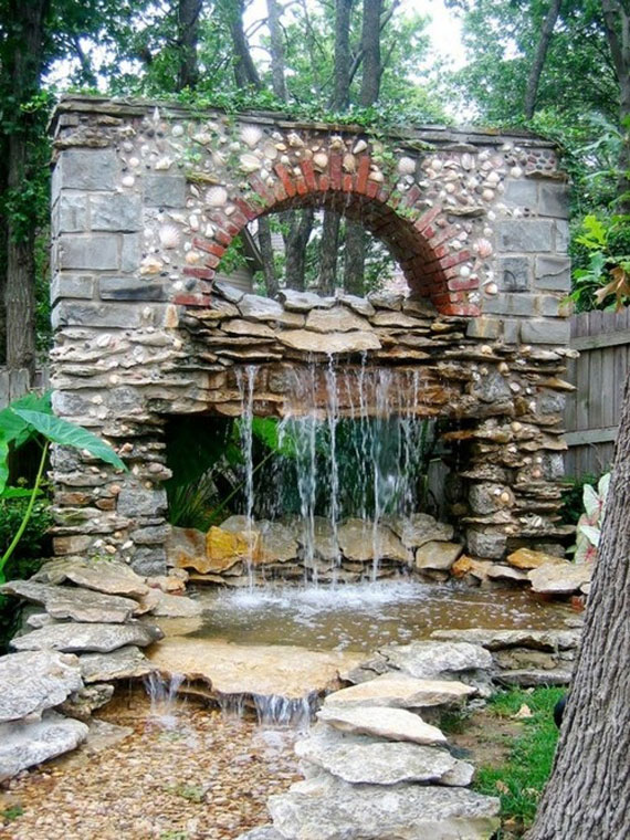 30 Beautiful Backyard Ponds And Water Garden Ideas on Pond Ideas Backyard id=31208