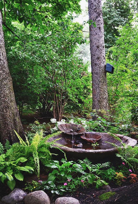 30 Beautiful Backyard Ponds And Water Garden Ideas on Backyard Pond Landscaping Ideas  id=97993