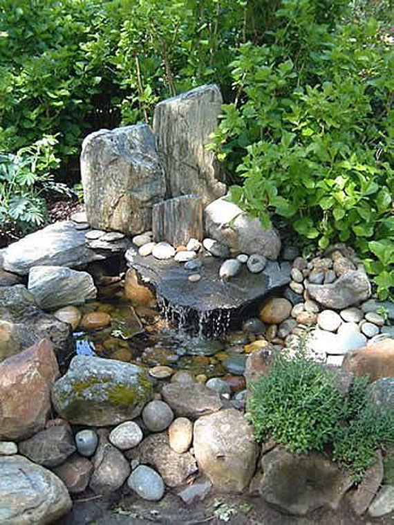30 Beautiful Backyard Ponds And Water Garden Ideas on Pond Ideas Backyard id=85154