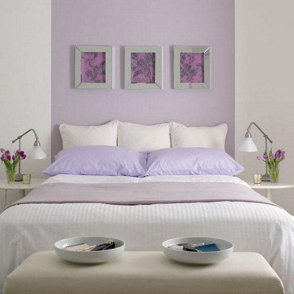 Nicole franzen having a small space may burden you with more storage issues than your nei. 19 Purple and white bedroom combination ideas