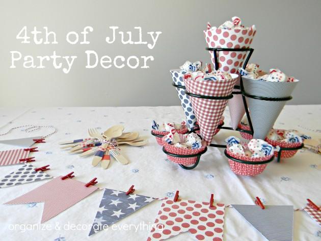 20 Lovely Patriotic Celebration Table Ideas