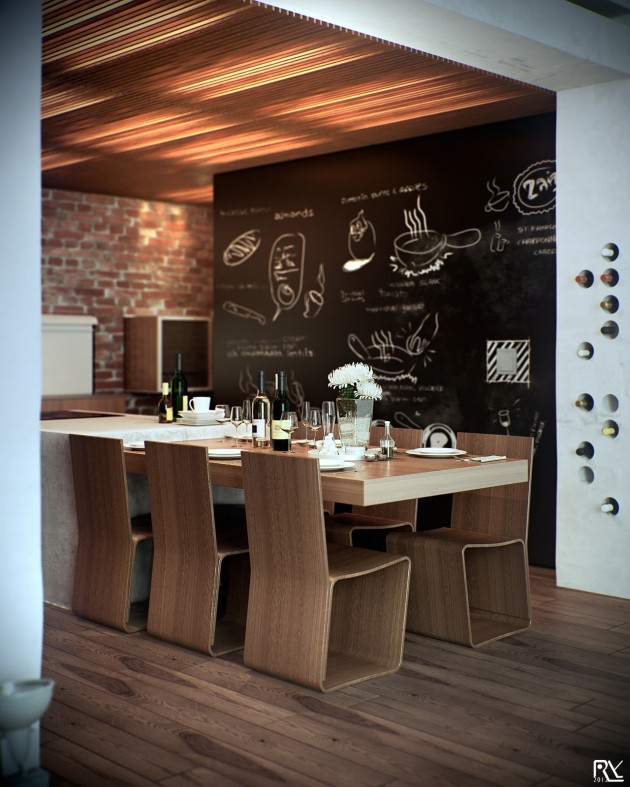 25 Amazing Chalkboard Wall Paint Ideas on Modern:ywbgei4Kh3S= Kitchen Ideas  id=14970
