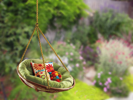 Cheap Garden Swing