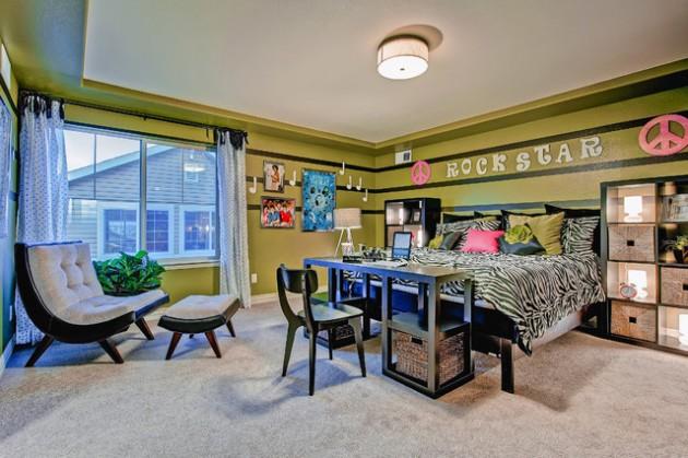 36 Trendy Teen Room Design Ideas on Trendy Teenage Room Decor  id=40667