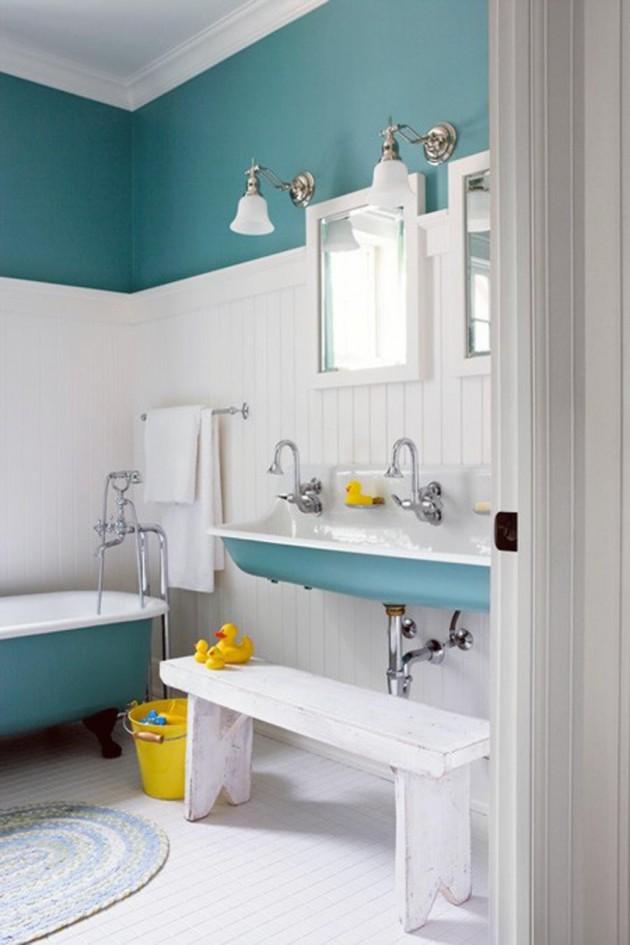 30 Colorful and Fun Kids Bathroom Ideas on Fun Bathroom Ideas  id=69489