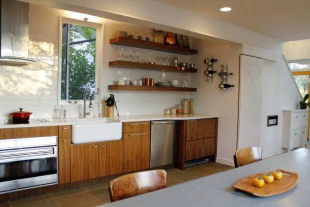 Kitchen Design Open Shelves