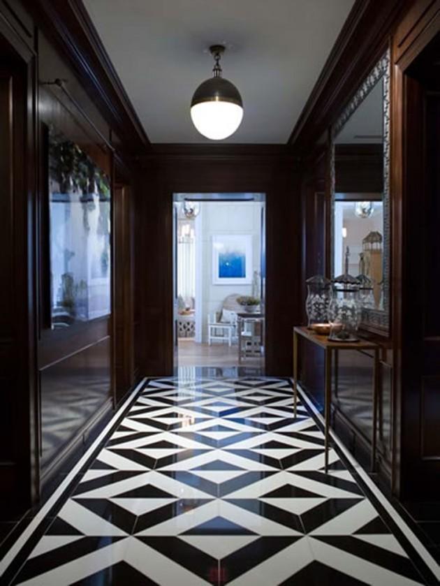 Homes Black Ceramic Tiles