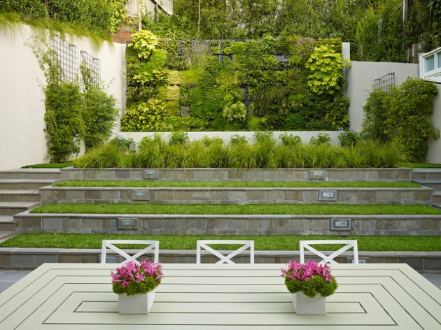 25 Wonderful Examples of Terraced Front Yard Gardens on Terraced Front Yard Ideas id=84258