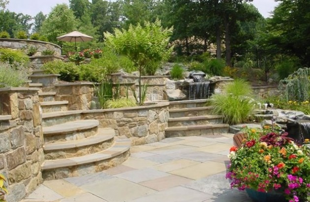 25 Wonderful Examples of Terraced Front Yard Gardens on Terraced Front Yard Ideas id=75573