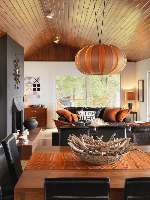 You know the wall needs something, but you'. 25 Amazing Orange Interior Designs