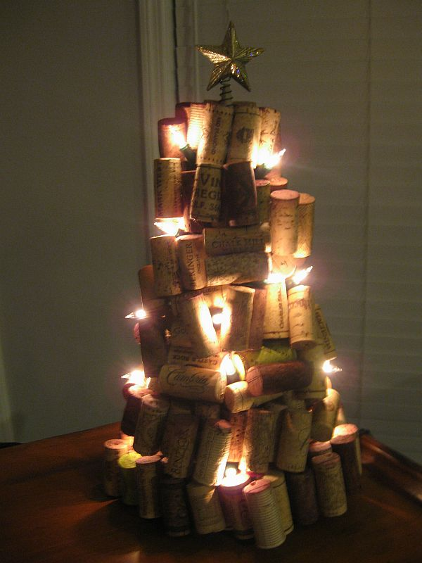Wine Cork(s) Christmas Decoration Ideas