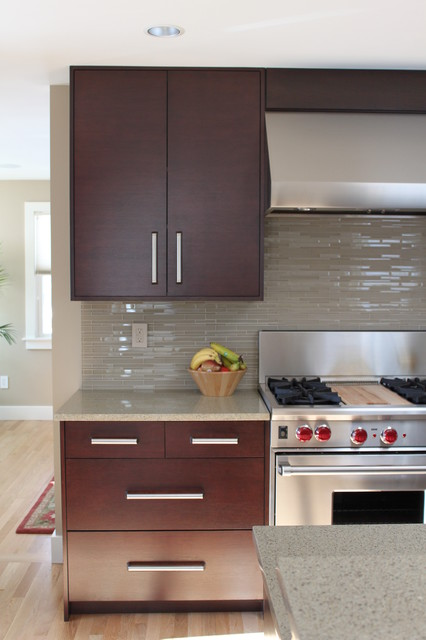 Contemporary Kitchen Tiles Backsplash