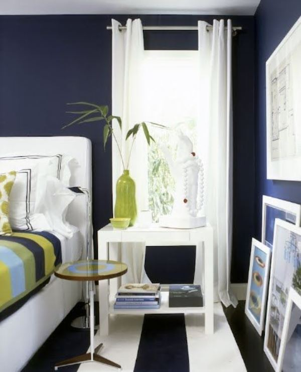 The master bedroom is probably the most ignored room in my house when it comes to style. 20 Marvelous Navy Blue Bedroom Ideas