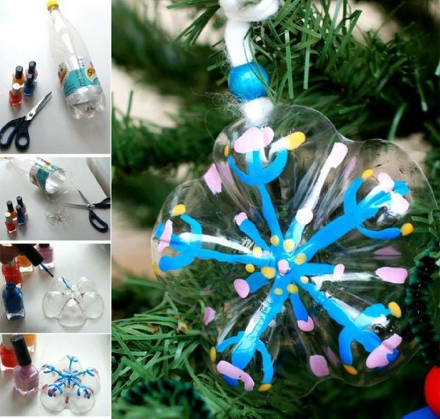 Ornaments Clear Christmas Plastic Crafts