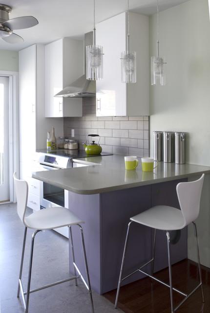 30 Elegant Contemporary Breakfast Bar Design Ideas on Modern:0Bjn4Cem9Be= Kitchen Counter  id=30604