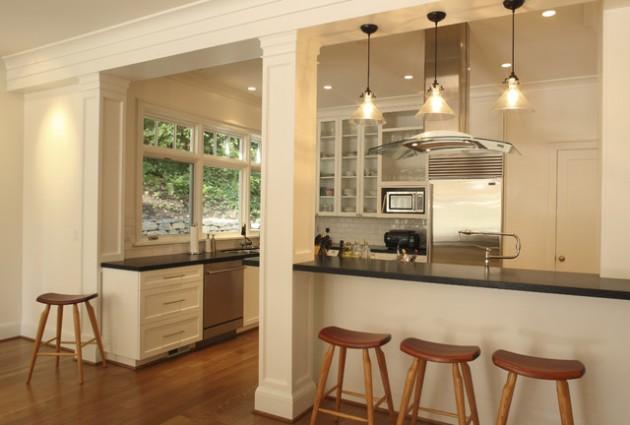 L Shaped Kitchen Plans Island