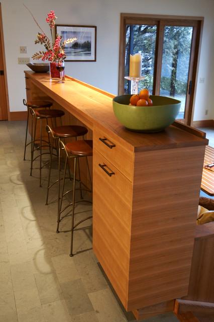 30 Elegant Contemporary Breakfast Bar Design Ideas on Modern:0Bjn4Cem9Be= Kitchen Counter  id=87298