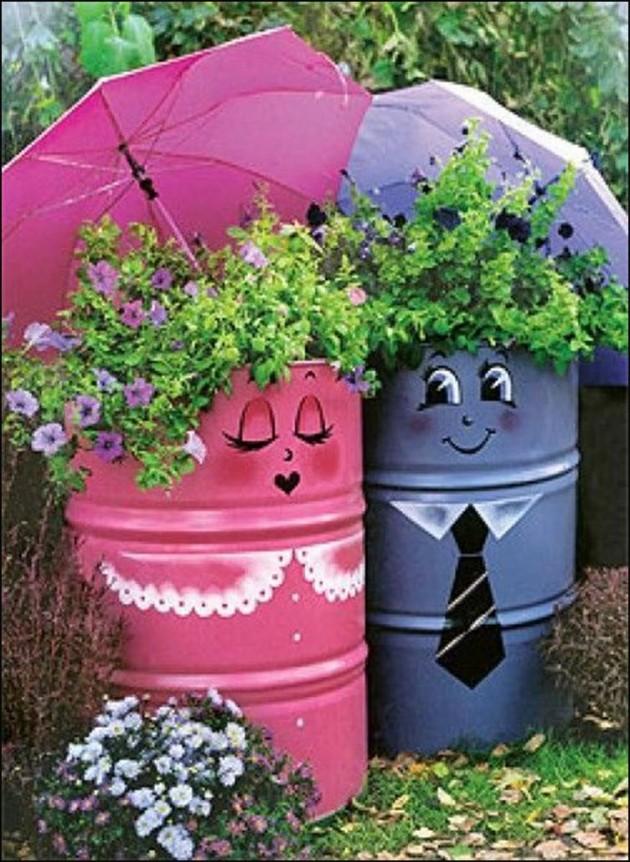23 Adorable Repurposed Umbrellas