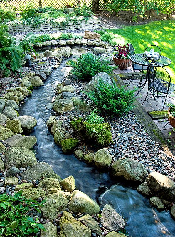 25 Inspirational Backyard Landscaping Ideas on Rocks In Backyard  id=88394