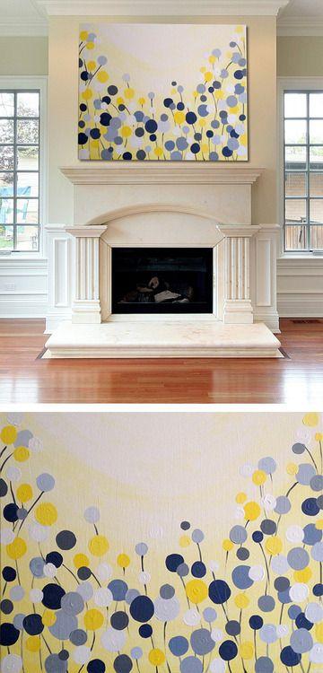 25 Creative and Easy DIY Canvas Wall Art Ideas on Creative:kqmwrvdqiag= Wall Art Ideas  id=12373