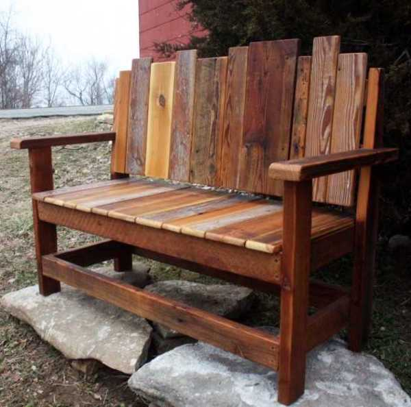 beautiful garden benches 18 Beautiful Handcrafted Outdoor Bench Designs