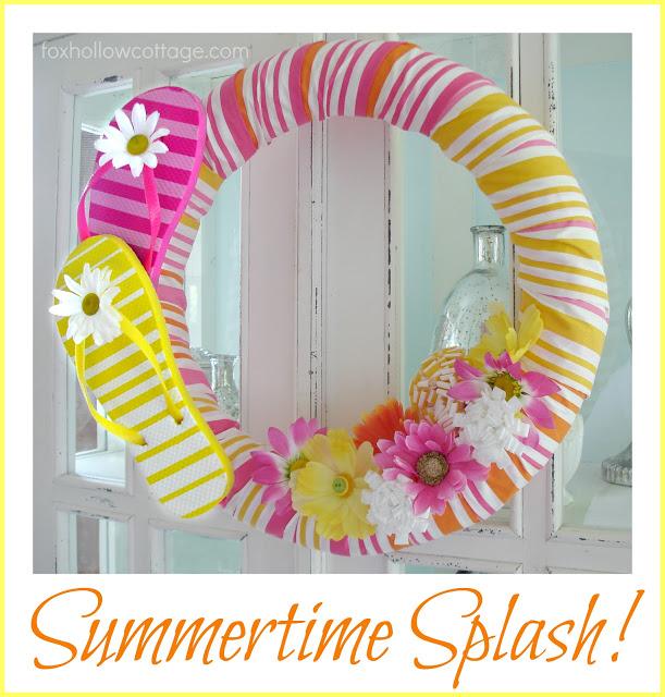 Beautify Your Front Door: 20 Lovely Handmade Summer Wreath Ideas