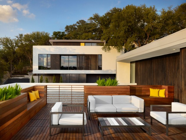 15 Elegant Outdoor Deck Designs For Your Backyard on Patio With Deck Ideas id=12607