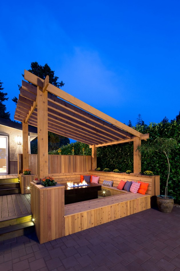 15 Elegant Outdoor Deck Designs For Your Backyard on Patio With Deck Ideas id=78455