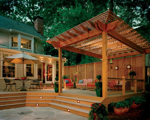 15 Elegant Outdoor Deck Designs For Your Backyard on Best Backyard Patio Designs id=33598